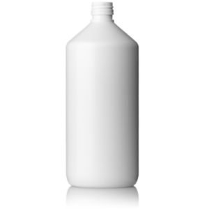 PET-flaska vit - 1 liter