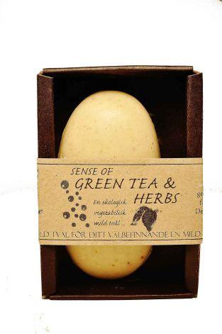 Tvål Sense of tea & herbs eko