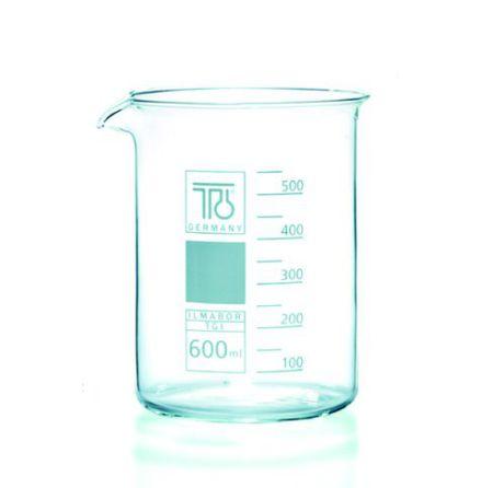 Bägare glas 600 ml