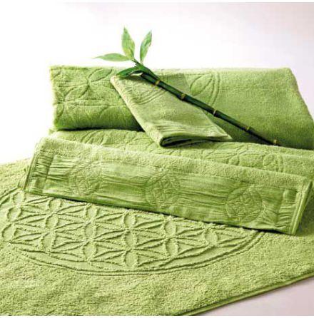 Badhandduk stor grön