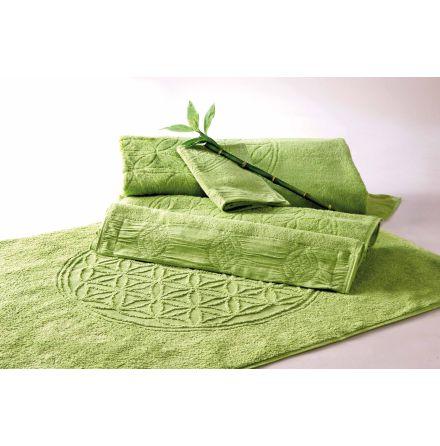 Gästhandduk grön