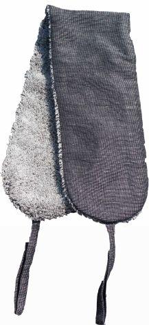 Ryggskrubb Vile svart/granit