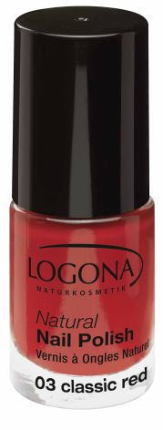 Nagellack Classic Red No 03