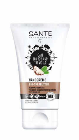 Handcreme Bio Sheasmör 50 ml