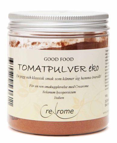 Tomatpulver ekologisk