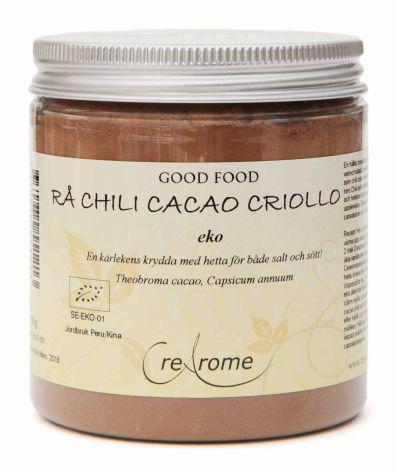 Chili Cacao Criollo rå eko