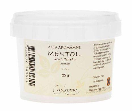 Mentholkristaller Eko