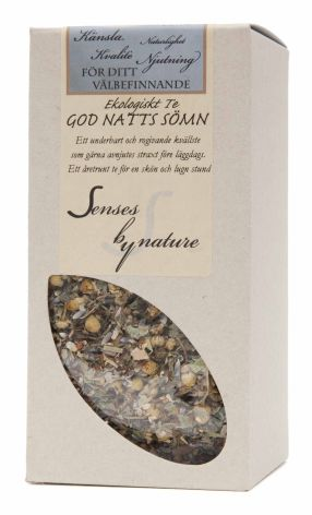 God natts sömn te Senses by nature