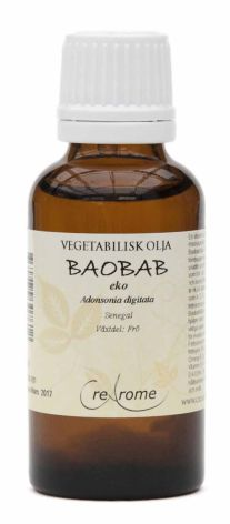 Baobabolja kallpressad EKO