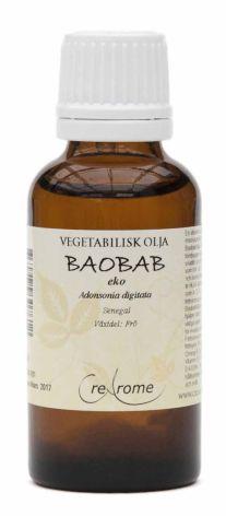 Baobabolja kallpressad ekologisk