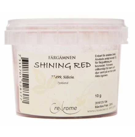 Shining red pärlemorpigment