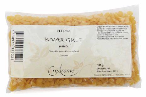 Bivax gult pellets