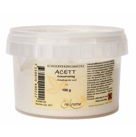 Acett konservering