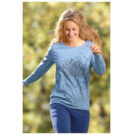 Sweatshirt Namasté jeansblå