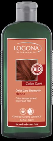 Schampo färgvård rödbrun