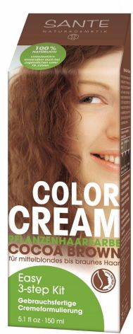 Color cream cocoa brown