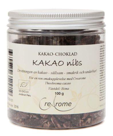 Kakaonibs eko Rå