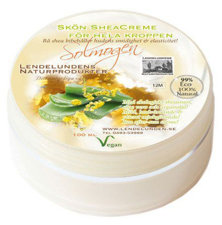 Body butter Solmogen Aloe & Arganolja 100 ml