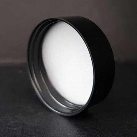 Lock svart glasburk 60 ml