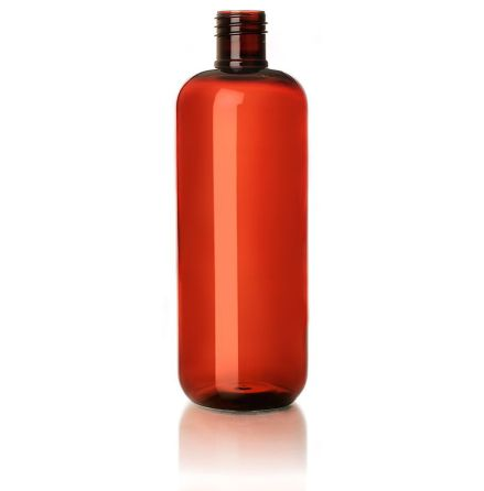 PET-flaska brun - 500 ml