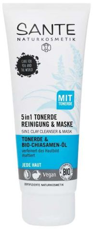 5 i 1 rengöringslera & mask