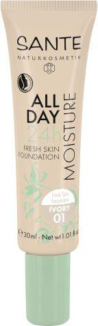 24 h fuktgivande foundation 01 ivory