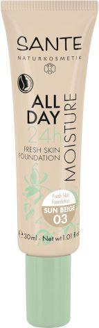 24 h fuktgivande foundation 03 sun