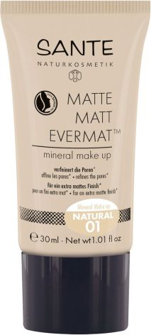 Flytande minealfoundation matt 01 natural