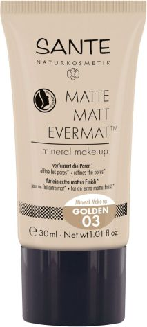 Flytande mineralfoundation matt - 03 golden