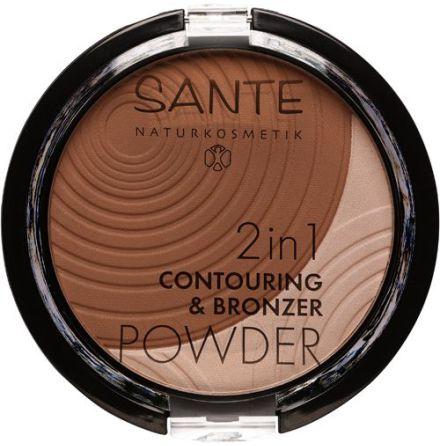 Conturing & Bronzing puder 2in1 - 02 medium-dark
