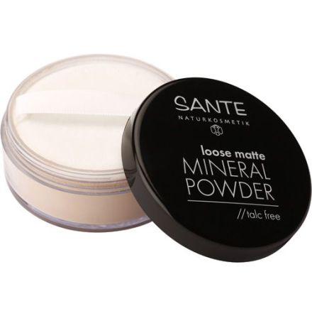 Löst mineralpuder matt - 02 sand