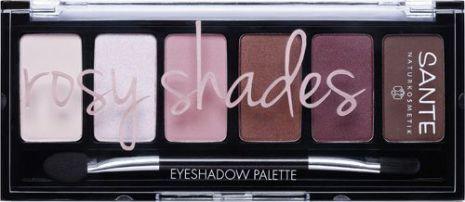 Ögonskugga palett - rosy shades