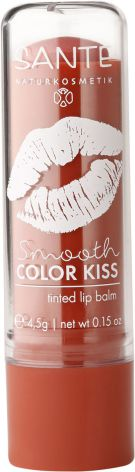 Lip balm smooth color kiss - soft coral