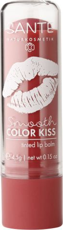 Lipbalm smooth color kiss - soft red
