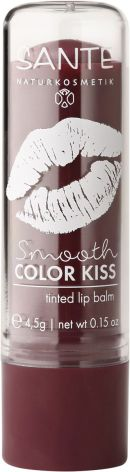 Lipbalm smooth color kiss - soft plum