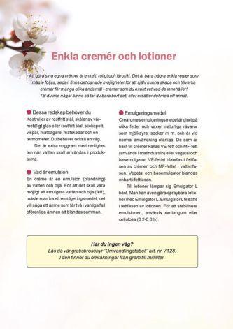 Receptbroschyr Cremer