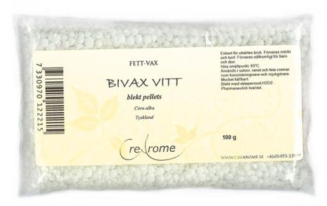Bivax vitt blekt pellets
