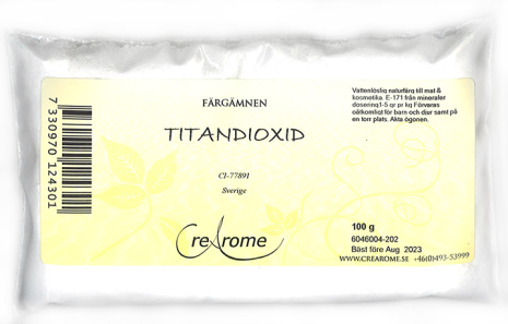 Titandioxid pulver