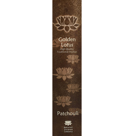 Rökelse Golden Lotus - Patchouli