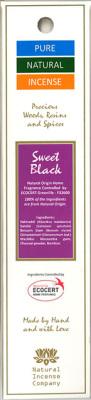 Rökelse Pure Natural - Sweet Black