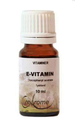 E-vitamin naturlig