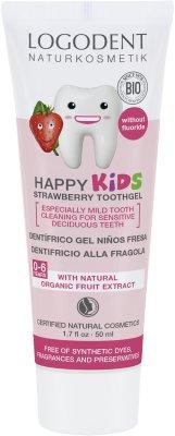 Tandkräm Kids - jordgubb fluorfri