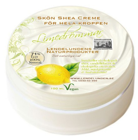 Limedrömmar - body butter 100ml