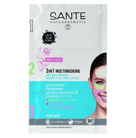 3 in 1 multimasking - ansiktsmask