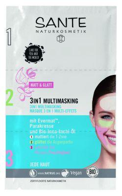 3 in 1 multimasking - ansiktsmask