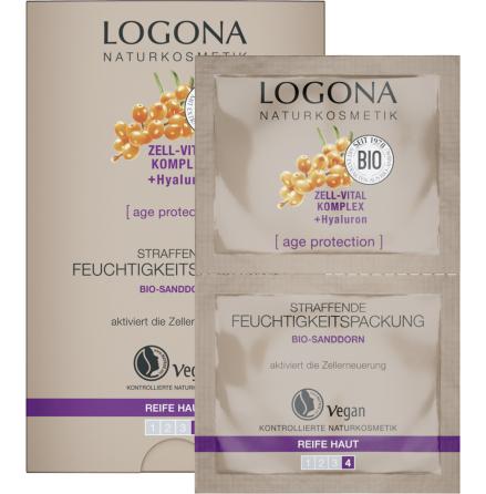 Återfuktande ansiktsmask - Age protection 15 ml