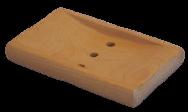 Tvålfat i ljust trä