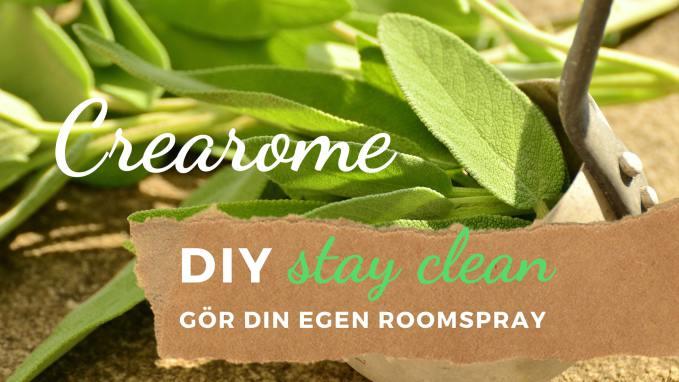 Gör din egen roomspray/rumspray och luftrenare!