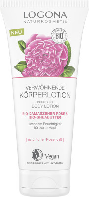 Body lotion rose & shea butter