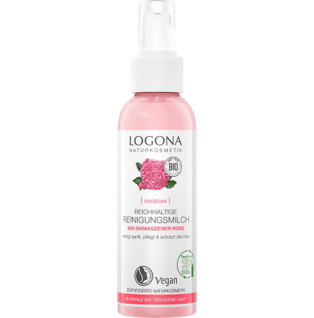 Moisture rich cleansing milk eko rose